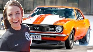 getlinkyoutube.com-BADMARO - GIRL Driven STREET CAR!
