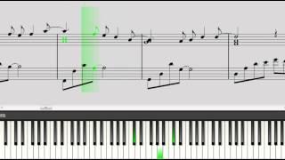 getlinkyoutube.com-真夏の果実(ピアノ)サザンオールスターズ 楽譜/中級