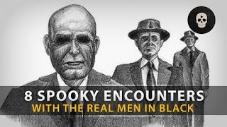 getlinkyoutube.com-8 Spooky Encounters with the REAL Men in Black