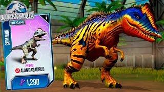 getlinkyoutube.com-NEW HYBRID ALANGASAURUS MAX LVL (40)! - Jurassic World The Game - HD