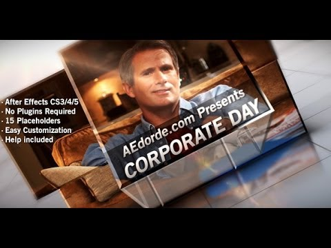 Corporate Day - After Effects Template Project
