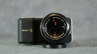 getlinkyoutube.com-Minolta MD Rokkor 50mm f/1.4 Lens Review on a BMPCC
