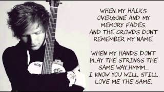 getlinkyoutube.com-Thinking Out Loud by  Ed Sheeran ( LYRICS MUSIC )