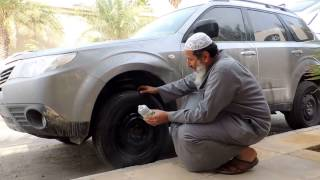 getlinkyoutube.com-اصلح الإطار في ثواني- رحال الخبر-Repaired the wheel in seconds Rahal Alkhobar