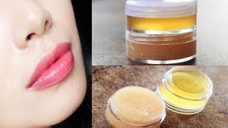 getlinkyoutube.com-DIY Melon Lip Scrub Plus Make Your Own Lip Moisturizer-Softener for Dry and Chapped Lips