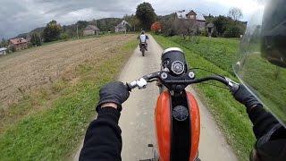getlinkyoutube.com-Enduro WSK 125 Honda CRM 125
