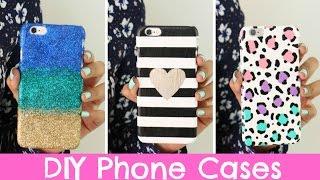 getlinkyoutube.com-DIY Phone Cases   Three Designs Cute & Easy!