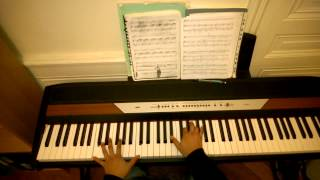 getlinkyoutube.com-Intro & High Hopes (Pink Floyd) & (ST) lesson piano covers instrumental part