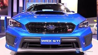 getlinkyoutube.com-2018 Subaru WRX STI - Exterior and Interior Walkaround - Debut at 2017 Detroit Auto Show