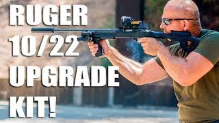 getlinkyoutube.com-Amazing Tactical Upgrade Kit / Stock for Ruger 10/22 by FAB Defense