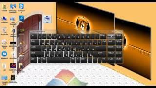 getlinkyoutube.com-سر من اسرار الوندوز 7 اظهار لوحة المفاتيح على سطح المكتب -الكيبورد