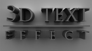 getlinkyoutube.com-3d Text Effect Photoshop CS6 CC & Hindi Tutorial