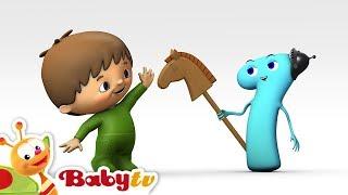 getlinkyoutube.com-Charlie y los Números - Charlie conoce Número  1- BabyTV (Español)