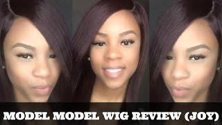 getlinkyoutube.com-HAIR| Model Model Wig Review (Joy)
