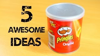 getlinkyoutube.com-5 Awesome Ideas with Pringles