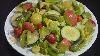 getlinkyoutube.com-Ensalada de frutas y vegetales