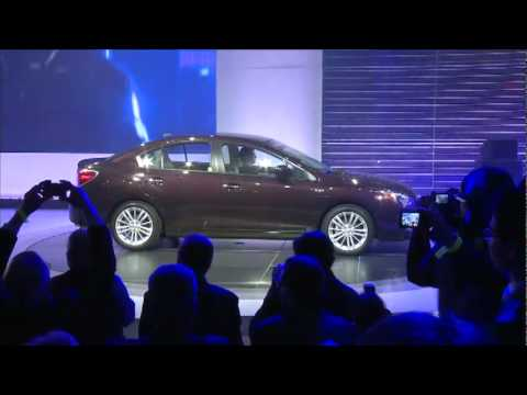 Subaru introduces all-new 2012 Impreza