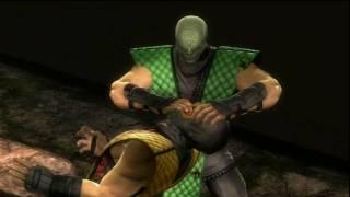 getlinkyoutube.com-Mortal Kombat 9 (2011)  ALL Classic costumes fatality compilation
