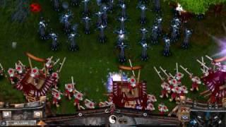 getlinkyoutube.com-Battle Realms: Serpent Great Defence