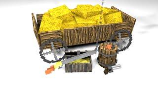 getlinkyoutube.com-Cinema 4d Minecraft Assassins Creed pack