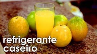 getlinkyoutube.com-Receita de refrigerante caseiro refrescante