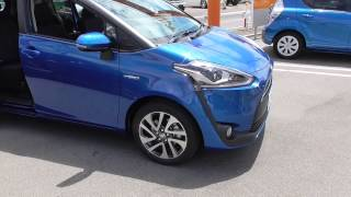 getlinkyoutube.com-2015年7月発売 トヨタ新型シエンタ ハイブリッドG (ブルーメタリック) TOYOTA NEW SIENTA HYBRID MODEL(BLUE METALLIC)