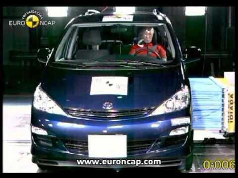 Euro NCAP | Toyota Previa | 2003 | Crash test