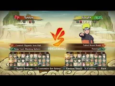 Naruto Shippuden Ultimate Ninja Storm Revolution All Characters - All Characters