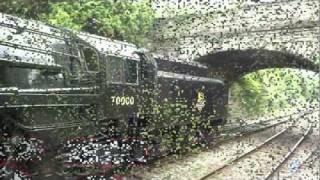 getlinkyoutube.com-Sony HX100v camera, The Dorset Coast Express 7MT Britannia