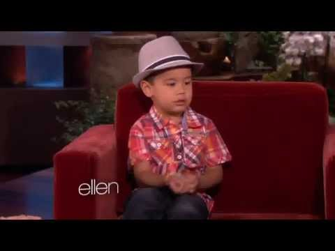 The Ellen Show - Kai And His Girlfriend, Ellen
