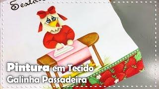 getlinkyoutube.com-PINTURA: GALINHA PASSADEIRA com Thanynha Avila - Programa Arte Brasil - 05/12/2016