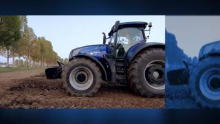New Holland #T7HeavyDuty in action - ABS Supersteer