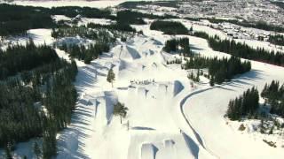 getlinkyoutube.com-Hafjell Alpinsenter - En nydelig vinterdag.
