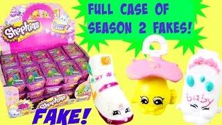 getlinkyoutube.com-FAKE Season 2 SHOPKINS! Full Case Opening! Special Edition Fluffy Baby Fakes!