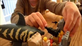 getlinkyoutube.com-Jack new Lego Shark movie
