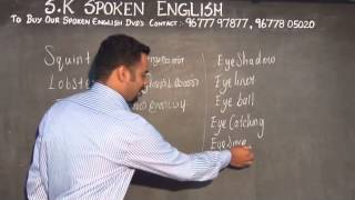 getlinkyoutube.com-S.K. Spoken English Training Centre (WORDS RELATED EYES)