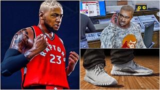 getlinkyoutube.com-Kanye West Adidas Yeezy Shoe Endorsement ???   SUPERMAN DEMARI BREES   NBA 2k17 MyCareer