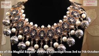 "getlinkyoutube.com-Art Karat presents ""Begum-Queens of the Mughal Empire"" Jewelry Collection at Hotel Taj Deccan"