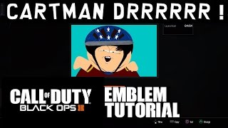 getlinkyoutube.com-Black Ops 3 Emblem Tutorial - Retarded Cartman - South Park !