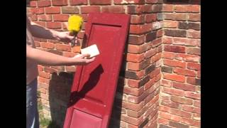 Cleaning Vinyl Shutters