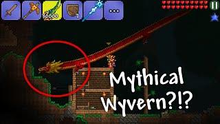 getlinkyoutube.com-Terraria 1.2.4 iOS/Android - Mythical Wyvern & McMoneyPants World