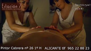 getlinkyoutube.com-MASAJE A 4 CUATRO MANOS terapeutico ,relajacion,sensacion unica, musica ,aroma