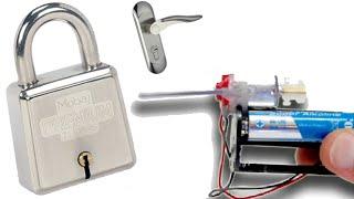 getlinkyoutube.com-كيف تصنع جهاز إلكتروني لفتح جميع الأقفال والأبواب بدون مفتاح