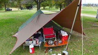 getlinkyoutube.com-ソロキャンプを楽しもう。 ミニピークで初キャンプ ①