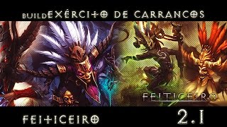 getlinkyoutube.com-Build Exército de Carrancos - Feiticeiro 2.1 - Diablo 3 RoS