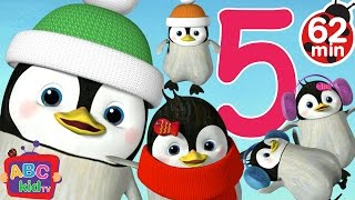 getlinkyoutube.com-Five Little Penguins Jumping on the Bed | + More Nursery Rhymes & Kids Songs - ABCkidTV