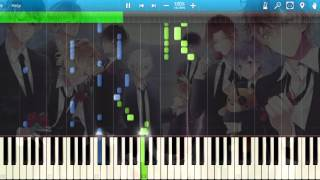 getlinkyoutube.com-[Synthesia] Diabolik Lovers - Kindan no 666 (Opening) (Piano) [Diabolik Lovers]