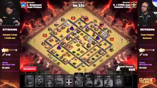 getlinkyoutube.com-BEST 5 ATTACKS/DEFENSES CLASHCON - CLASH OF CLANS 2015