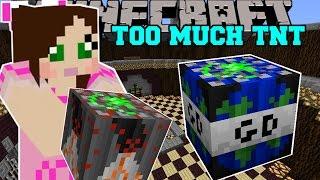 getlinkyoutube.com-Minecraft: WORLD ENDING TNT (GLOBAL DISASTER TNT!) Mod Showcase