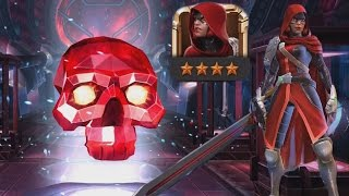 MARVEL: Contest of Champions (iOS/Android) MALICIOUS CRYSTAL 4 STAR Hunting PART 94